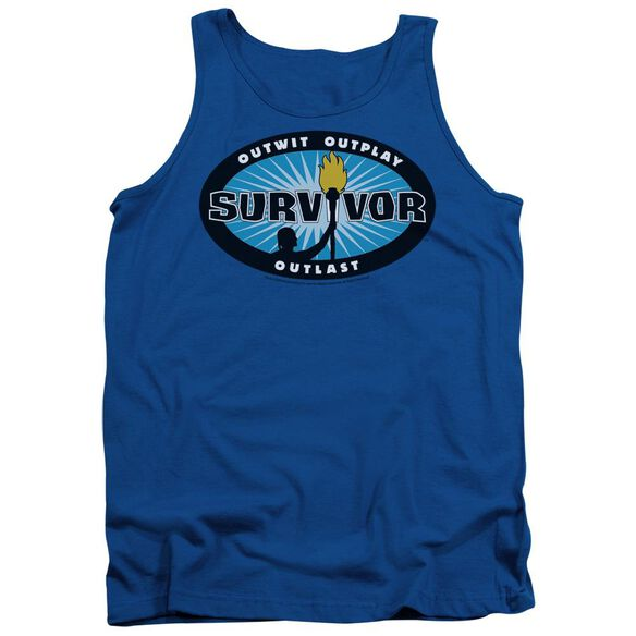 Survivor Burst Adult Tank Royal