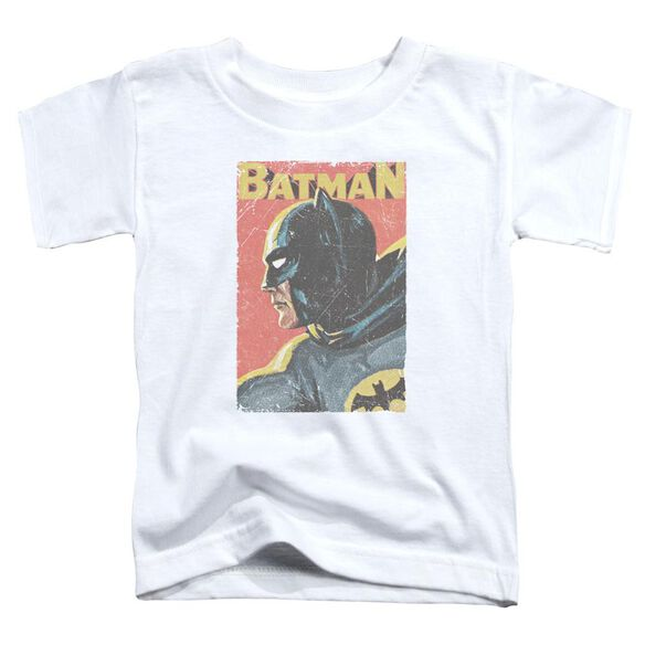 Batman Classic Tv Vintman Short Sleeve Toddler Tee White T-Shirt