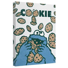 Sesame Street Cookie Crumble Quickpro Artwrap Back Board