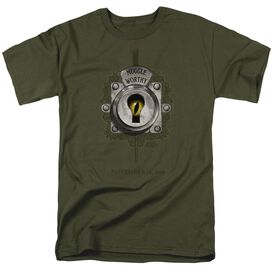 Fantastic Beasts Muggle Worthy Short Sleeve Adult Military T-Shirt