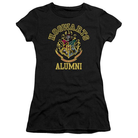 Harry Potter Hogwarts Alumni Short Sleeve Junior Sheer T-Shirt