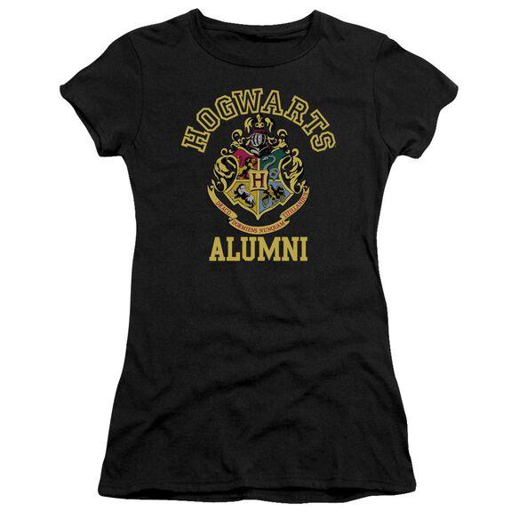 Harry Potter Hogwarts Alumni Hbo Short Sleeve Junior Sheer T-Shirt