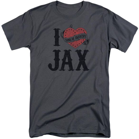 Sons Of Anarchy I Heart Jax Short Sleeve Adult Tall T-Shirt