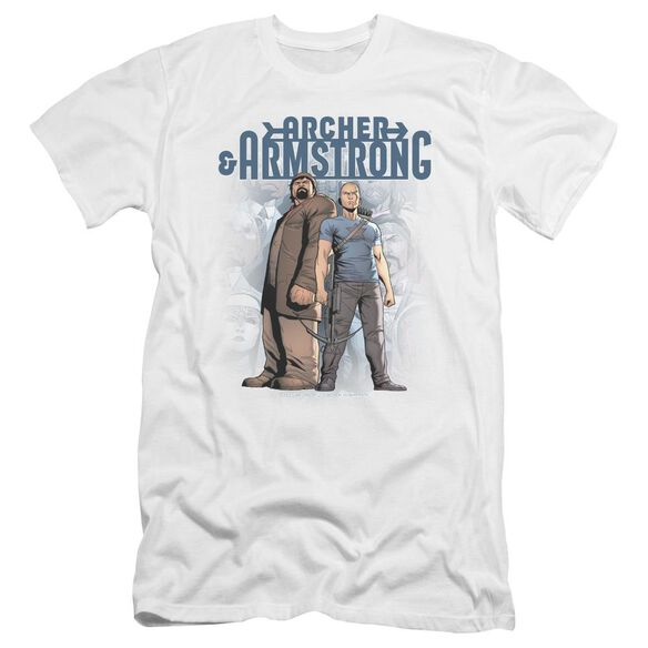 Archer & Armstrong Two Against All Premuim Canvas Adult Slim Fit