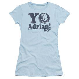 Rocky Yo Adrian Short Sleeve Junior Sheer Light T-Shirt