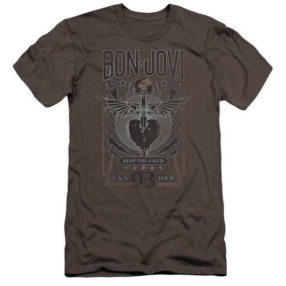 Bon Jovi Keep The Faith Hbo Short Sleeve Adult T-Shirt