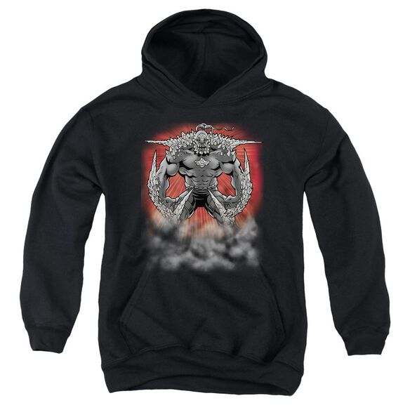 Superman Doomsday Dust Youth Pull Over Hoodie