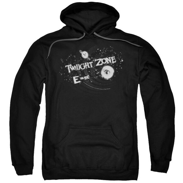 Twilight Zone Another Dimension Adult Pull Over Hoodie Black