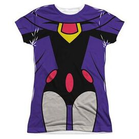 Teen Titans Go Raven Suit Sub Juniors T-Shirt