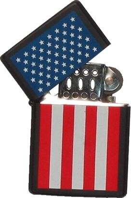Flag American Stars Over Stripes Lighter