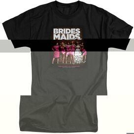 BRIDESMAIDS POSTER - S/S ADULT TALL - BLACK - 2X - BLACK T-Shirt