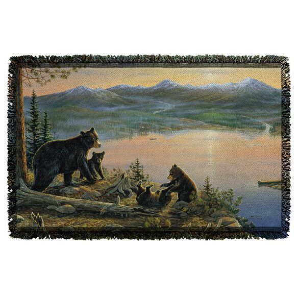 Wild Wings Serenity At Twilight 2 Woven Throw