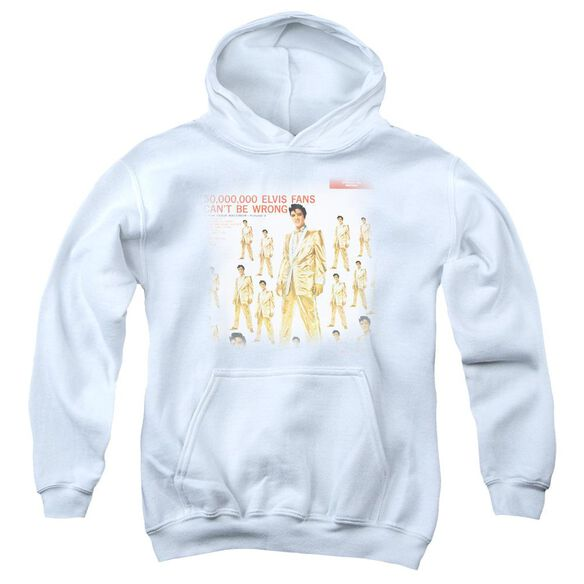 Elvis 50 Million Fans Youth Pull Over Hoodie