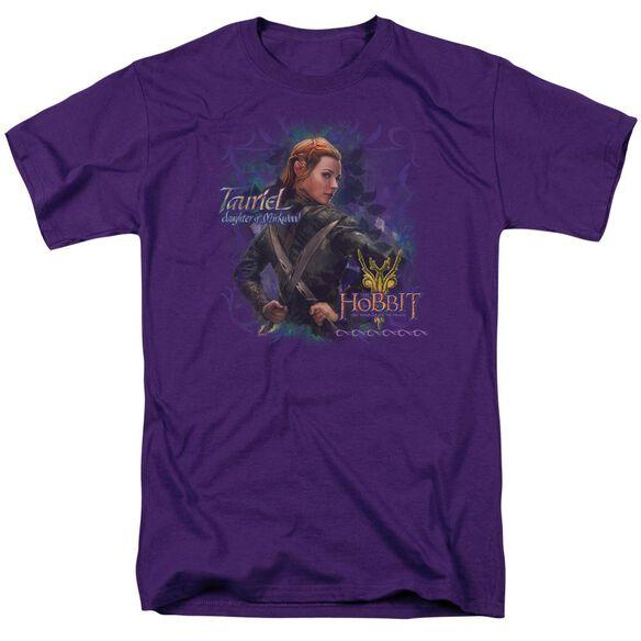 Hobbit Daughter Short Sleeve Adult Purple T-Shirt