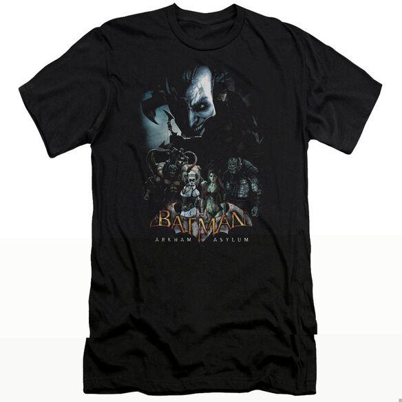 BATMAN AA FIVE AGAINST ONE - S/S ADULT 30/1 - BLACK T-Shirt