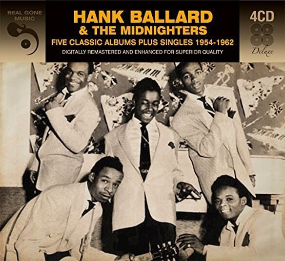 Hank Ballard - 5 Classic Albums Plus Singles 1954-1962