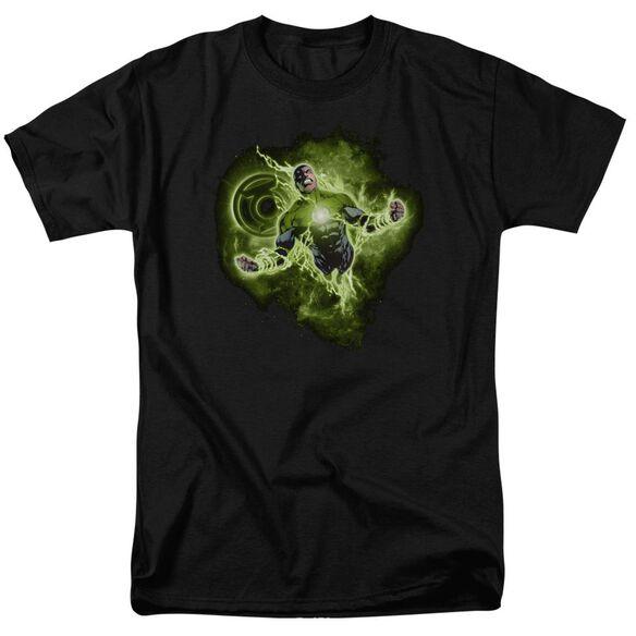 Green Lantern Lantern Nebula Short Sleeve Adult T-Shirt