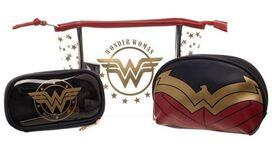 Wonder Woman Cosmetic Bag & Brush Set