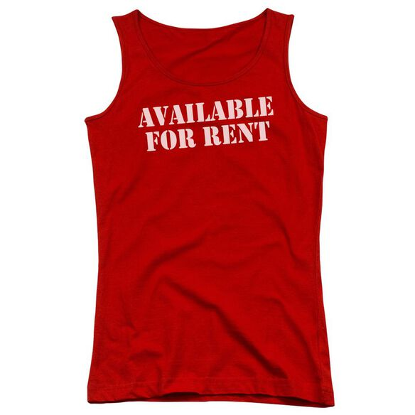 Available For Rent Juniors Tank Top