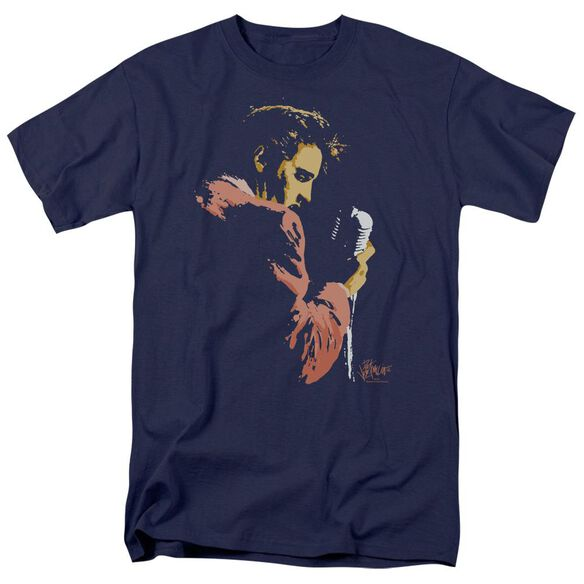 Elvis Early Elvis Short Sleeve Adult T-Shirt