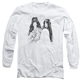 Aerosmith Draw The Line Long Sleeve Adult T-Shirt