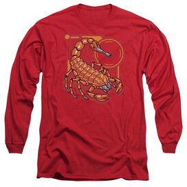 Scorpion Long Sleeve Adult T-Shirt