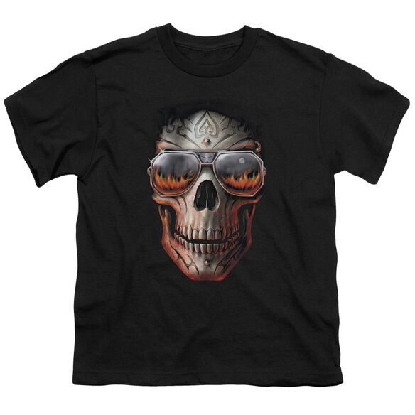 Anne Stokes Hellfire Short Sleeve Youth T-Shirt