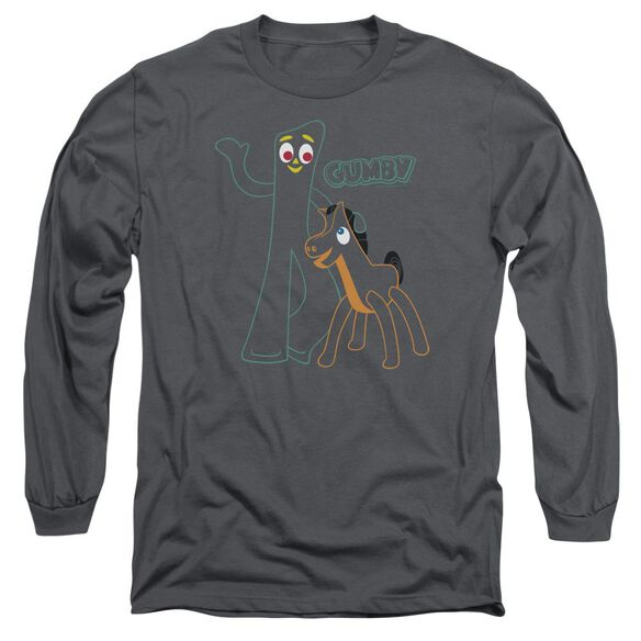 GUMBY OUTLINES-L/S T-Shirt