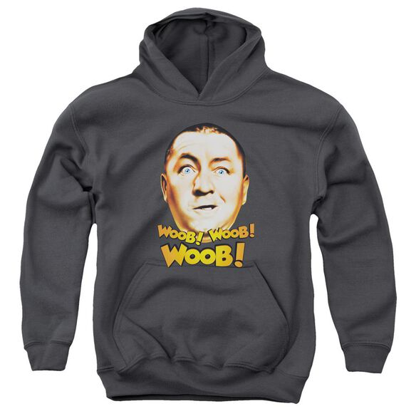 Three Stooges Woob Woob Woob Youth Pull Over Hoodie