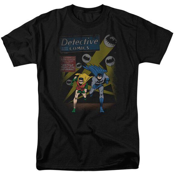 BATMAN DYNAMIC DUO-S/S ADULT 18/1 - BLACK T-Shirt