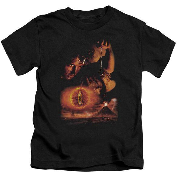 Lor Destroy The Ring Short Sleeve Juvenile Black T-Shirt