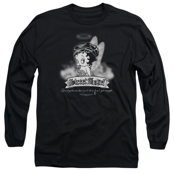 Betty Boop Street Angel Long Sleeve Adult T-Shirt