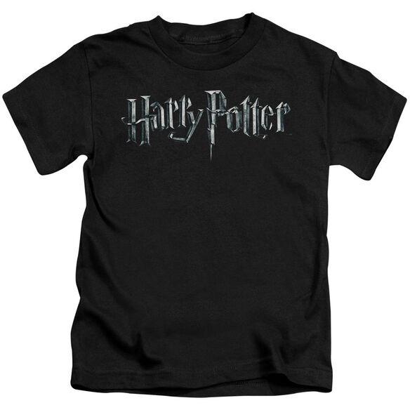 Harry Potter Logo Short Sleeve Juvenile T-Shirt