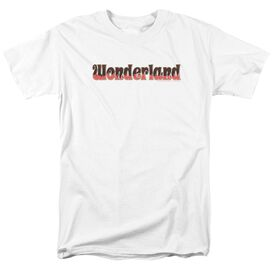 Zenoscope Wonderland Logo Short Sleeve Adult White T-Shirt