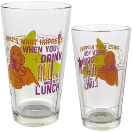 Archer Collector's Series 4-Pack Pint Glass Set