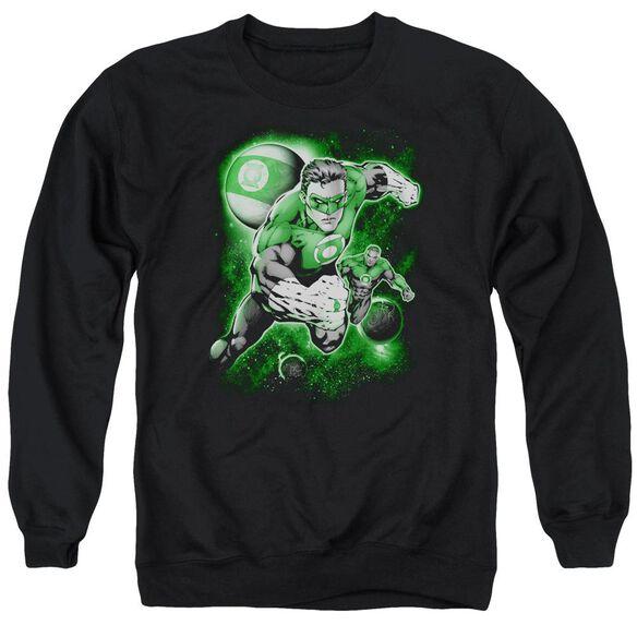 Green Lantern Lantern Planet Adult Crewneck Sweatshirt