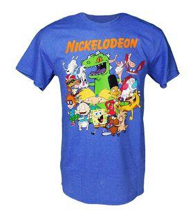 Nickelodeon Characters Group T-Shirt