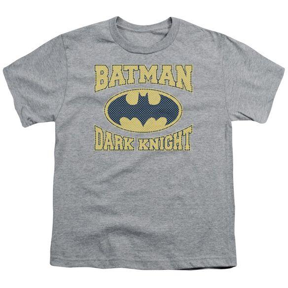 Batman Dark Knight Jersey Short Sleeve Youth Athletic T-Shirt