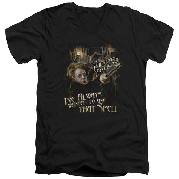 Harry Potter That Spell Short Sleeve Adult V Neck T-Shirt