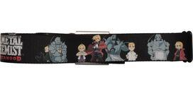 Fullmetal Alchemist Brotherhood Group Seatbelt Mesh Belt