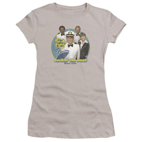 Love Boat Rockin The Boat Premium Bella Junior Sheer Jersey