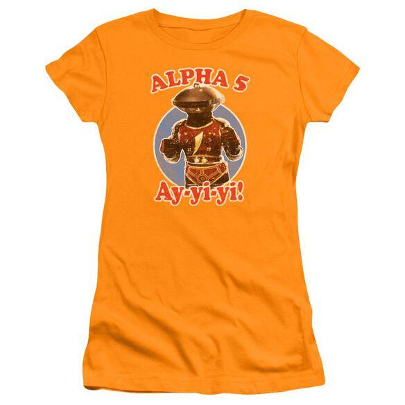 Power Rangers Alpha 5 Premium Bella Junior Sheer Jersey