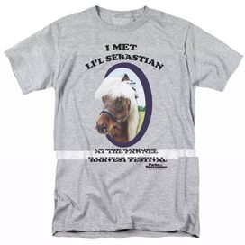 PARKS AND REC LIL SEBASTIAN-S/S ADULT T-Shirt