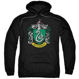 Harry Potter Slytherin Crest Adult Pull Over Hoodie