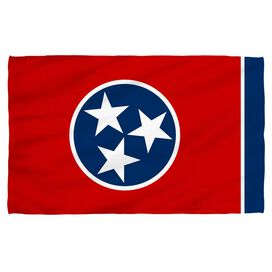 Tennessee Flag Face Hand Towel