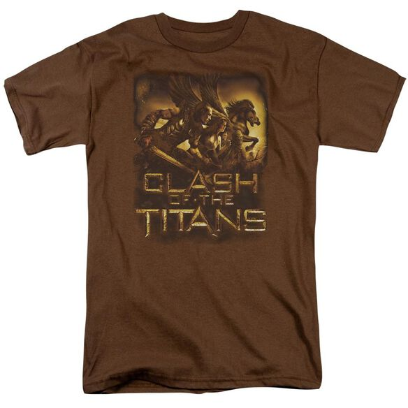 Clash Of The Titans Heroes Short Sleeve Adult T-Shirt