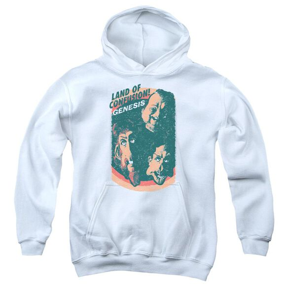 Genesis Land Of Confusion Youth Pull Over Hoodie