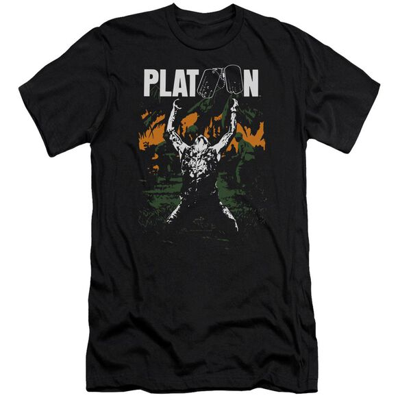 Platoon Graphic Premuim Canvas Adult Slim Fit