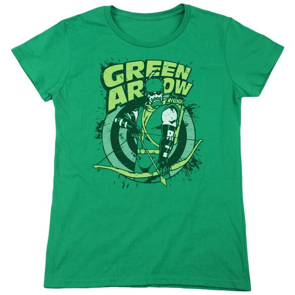 Dc On Target Short Sleeve Womens Tee Kelly T-Shirt