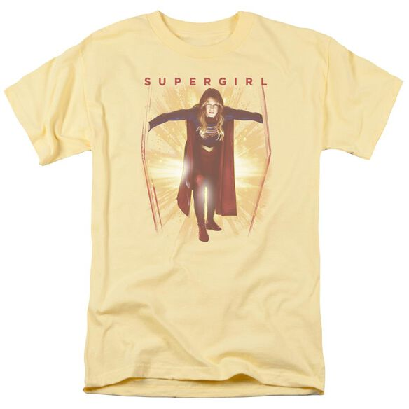 Supergril Through The Door Short Sleeve Adult Banana T-Shirt